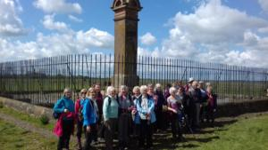 Centenary Walk 5: King Edward I monument, Burgh Marsh