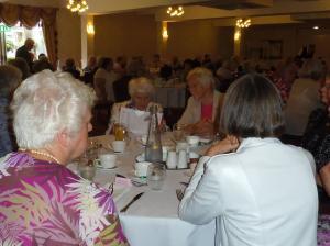 Members enjoying Federation Lunch 2017 at Hunday Manor Hotel