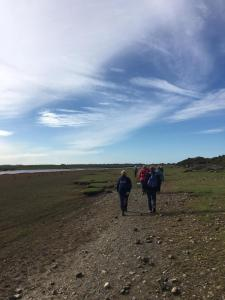 Leaving Grune Point. Centenary Walk Part 4.