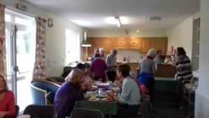 Centenary Walk 6 – lunch provided by Crosby-on-Eden WI