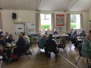 Coffee morning at Langwathby
