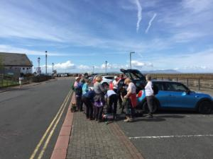 Centenary Walk 3, Maryport – changing boots