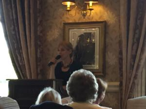 Afternoon tea, Inn on the Lake – guest speaker, Marie-Elsa Bragg