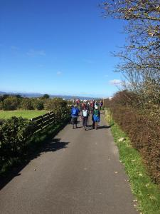 Heading back to Silloth in sunshine. Centenary Walk Part 4.