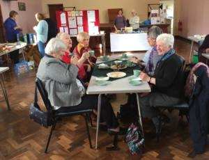 Members at Penrith Coffee Morning