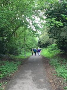 ACWW walk 2019, old railway line Cockermouth