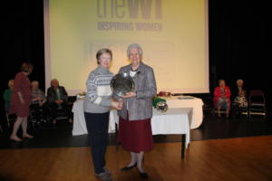 Helen Fox salver, winner of the Federation Quiz