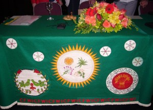 Federation tablecloth